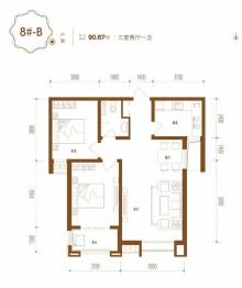 邢台桥西区2室2厅1卫90m²毛坯房