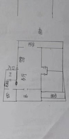 邢台桥西区凰家阳光园3室2厅1卫117m²简单装修
