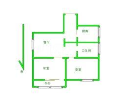 邢台桥西区燕云台2室2厅1卫78m²精装修