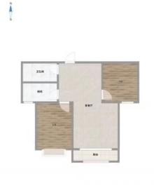 邢台襄都区国际新城2室2厅1卫85m²中档装修
