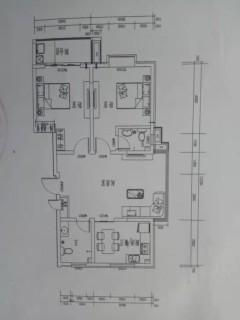 邢台襄都区自然城一期万达商圈 三中学区 三中附小 2室2厅2卫双气有证可贷款92万