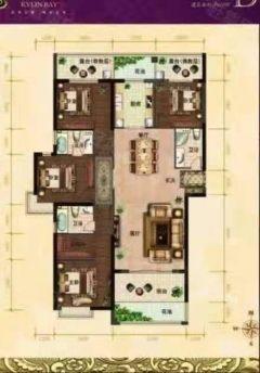 邢台信都区麒麟湾4室2厅3卫160万155m²出售